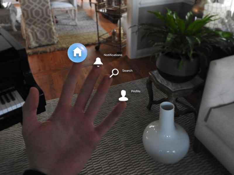 I've got the whole app in my hand: Kontextmenü auf den Fingerspitzen. BILD: Imagineality