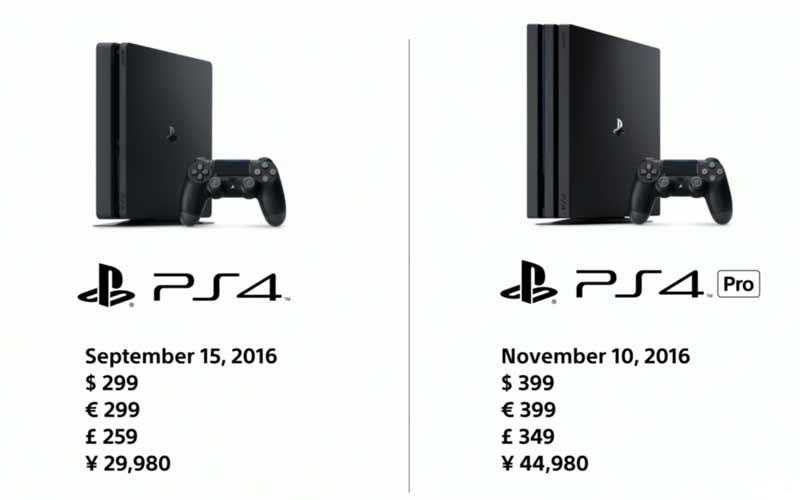 Die alte PS4 wird günstiger. Bild: Sony (Screenshot)