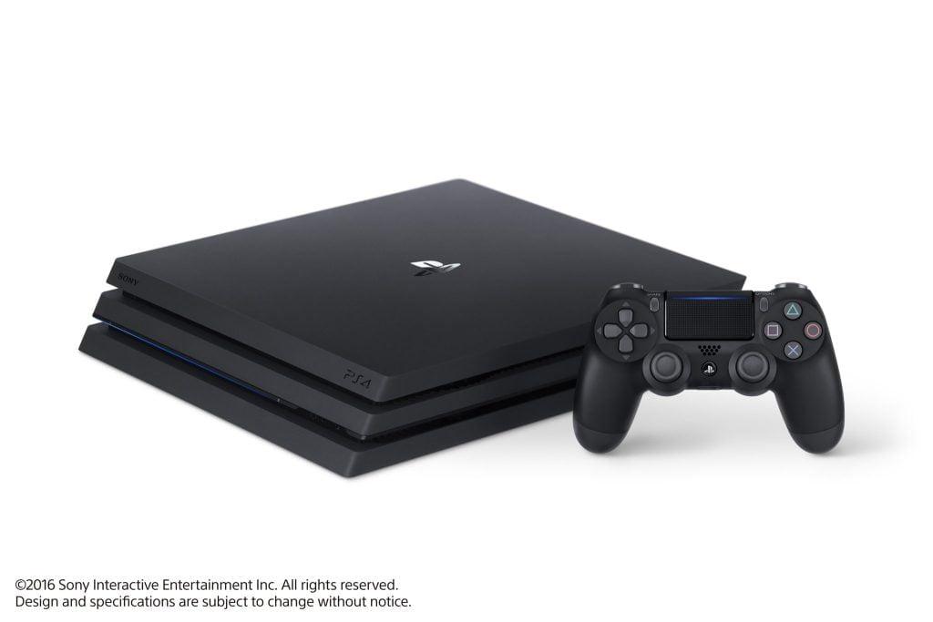 Playstation Pro, Offizielles Bild