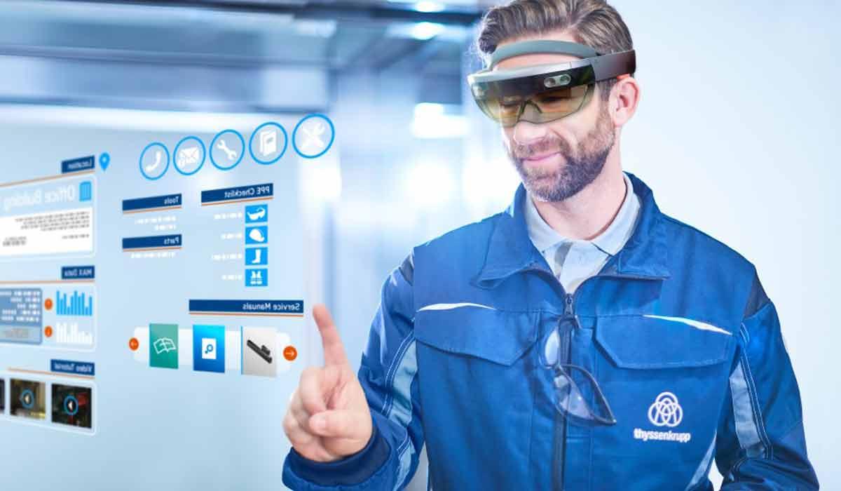 Hololens: Servicetechniker erledigen Aufräge bis zu viermal schneller