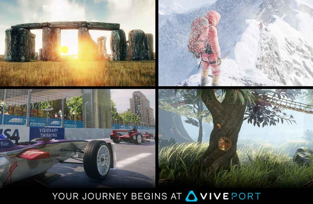 HTC Vive: Viveport ab sofort verfügbar, zahlreiche Apps im Angebot