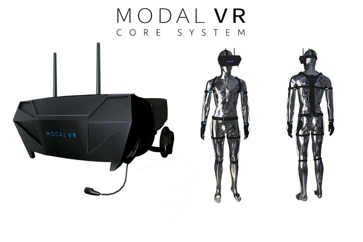 Virtual Reality: Modal VR verspricht drahtloses Ganzkörpertracking auf 90.000 Quadratmeter