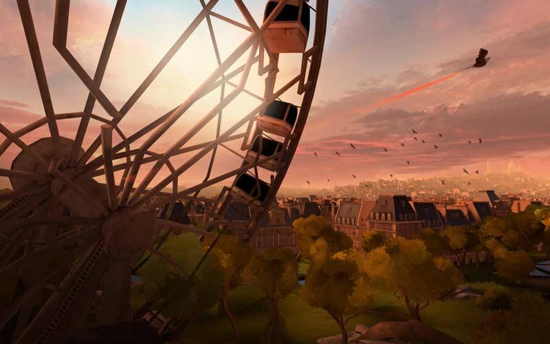 Die Atmosphäre im VR-Paris ist grandios. Wer sich auskennt. entdeckt sogar Straßenzüge wieder. Bild: Ubisoft