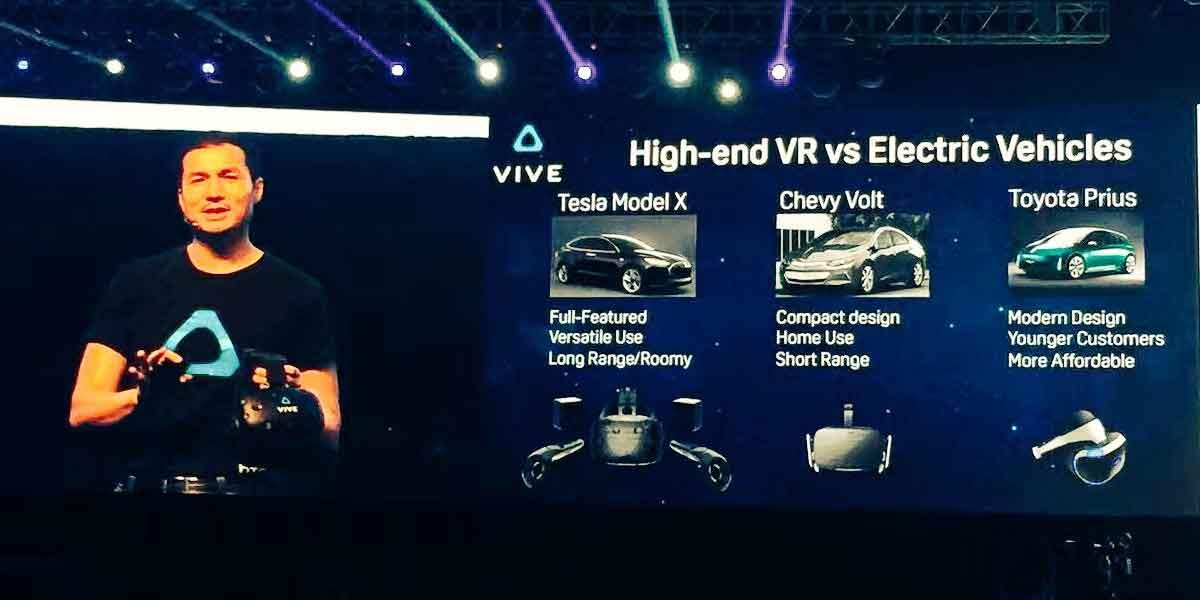 Oculus Rift ist keine Konkurrenz für HTC Vive, glaubt Vives China-Präsident