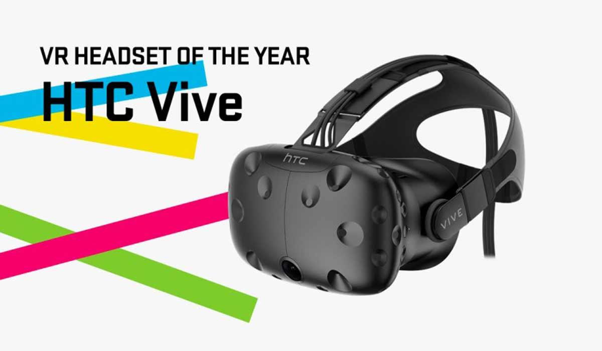 HTC Vive gewinnt Wareable-Award für die beste VR-Brille 2016