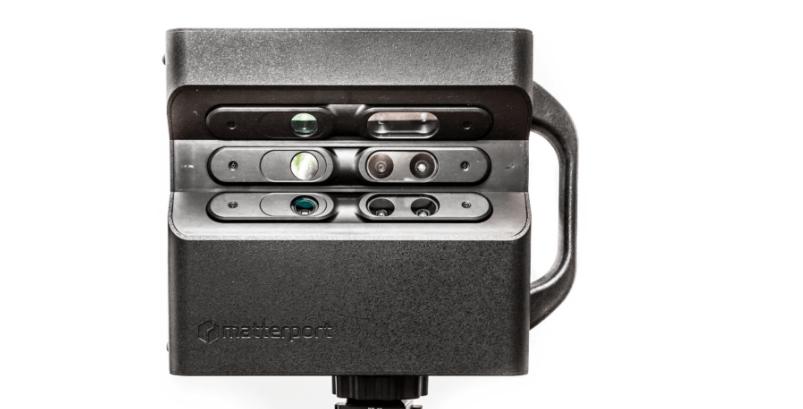 Matterports 3D-Kamera kann auch von Laien bedient werden. BILD: Matterport