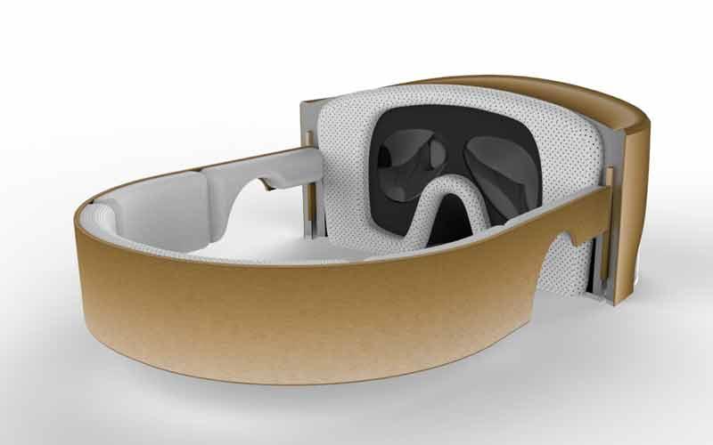 Die VR-Brille Pulsar ist ein höchst ambitioniertes Projekt. Ob es klappt? Bild: Onix