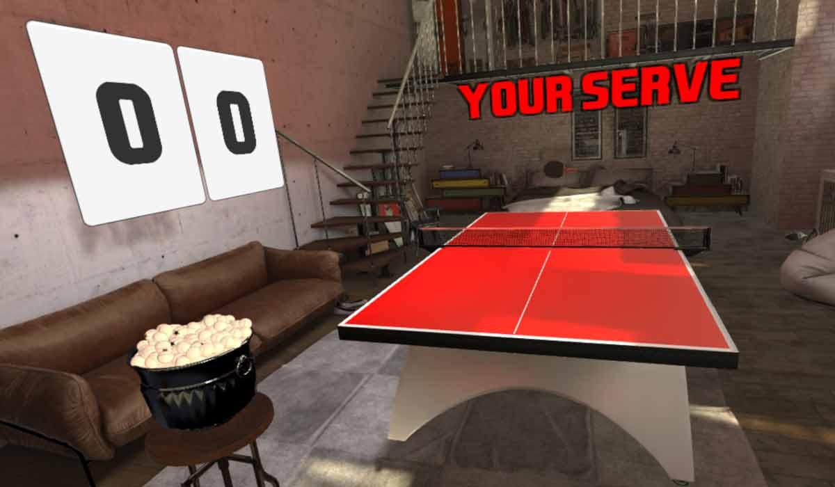 Warum eine Tischtennisplatte in Virtual Reality eine erstaunliche Sache ist