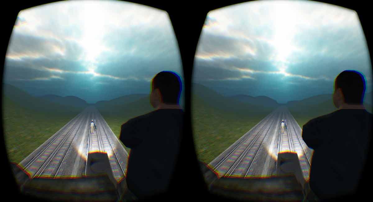 Oculus Rift trennt Theorie und Praxis bei moralischen Entscheidungen
