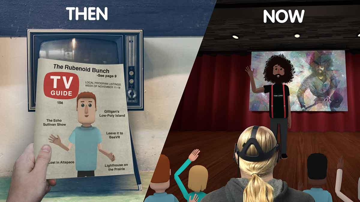 Virtual Reality: AltspaceVR erweckt vergangene Veranstaltungen zum Leben
