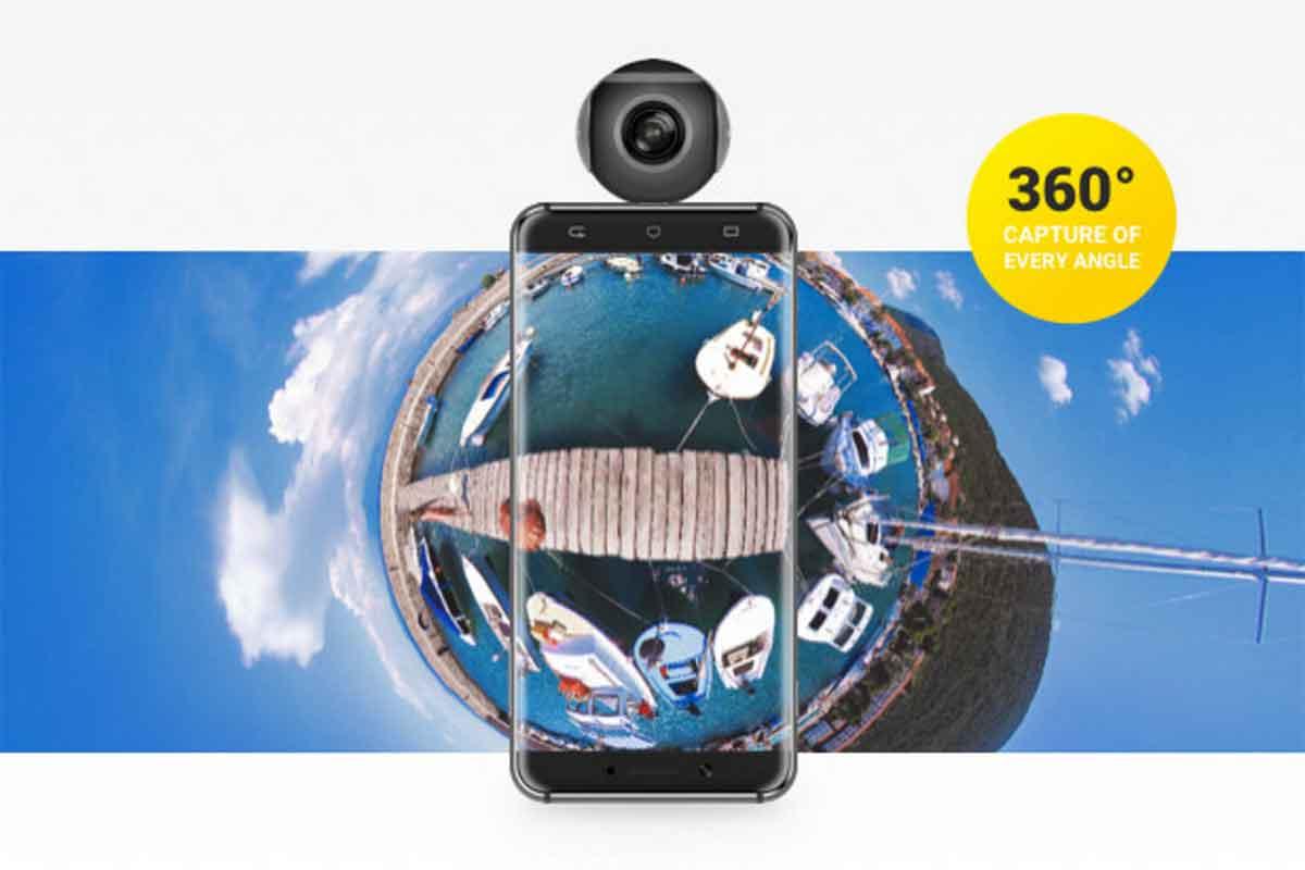 Insta360 Air: Eine ansteckbare 360-Grad-Kamera für Android Smartphones