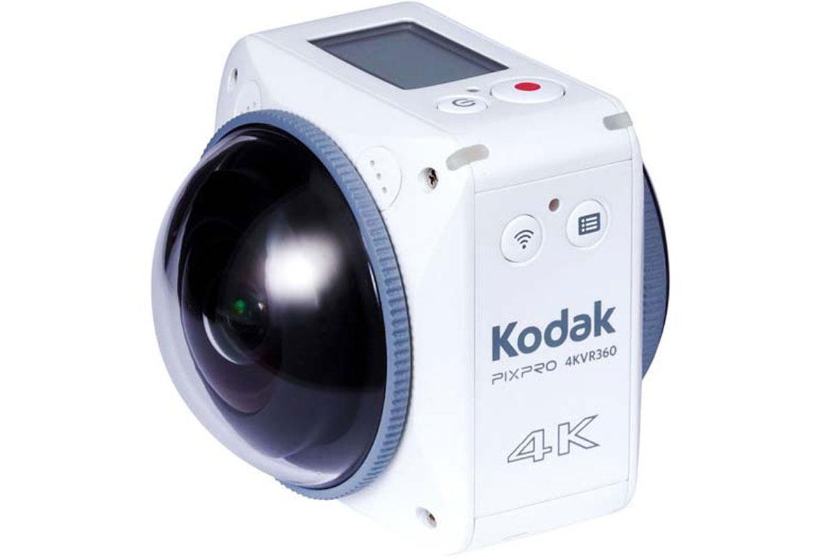 Die Kodak PixPro 4KVR360 mit erstellt vollspährische 360° Aufnahmen in 4K.