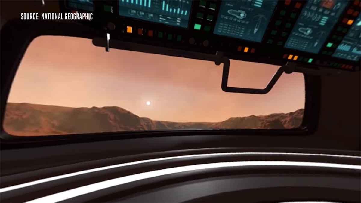 Virtual Reality: National Geographic macht Mission zum Mars erlebbar