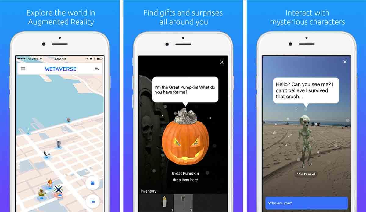 Mit Metaverse kann man Spiele wie Pokémon Go selbst erstellen