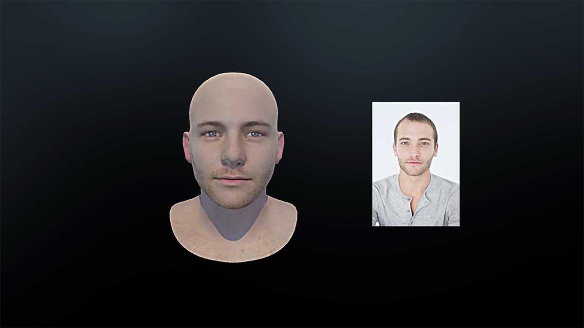 Virtual Reality: Oben erstellt realistische 3D-Avatare anhand von 2D-Fotos