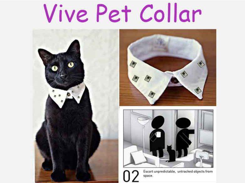 Haustiere sind mit diesem Halsband VR-ready.