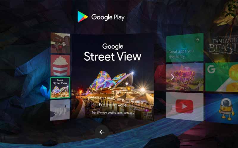 Der Daydream-Store bietet ein immersives Shopping-Erlebnis direkt in Virtual Reality. Bild: Google Inc.