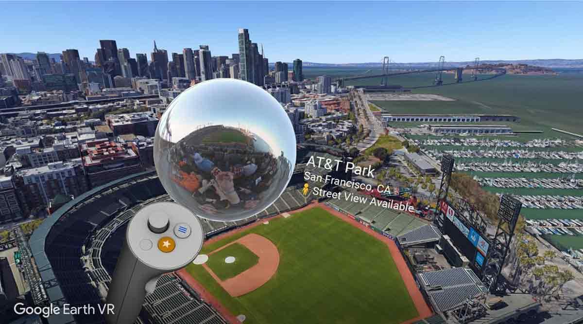 Google Earth VR für HTC Vive und Oculus Rift ist die wichtigste VR-Anwendung und wird durch die Street-View-Integration noch besser.
