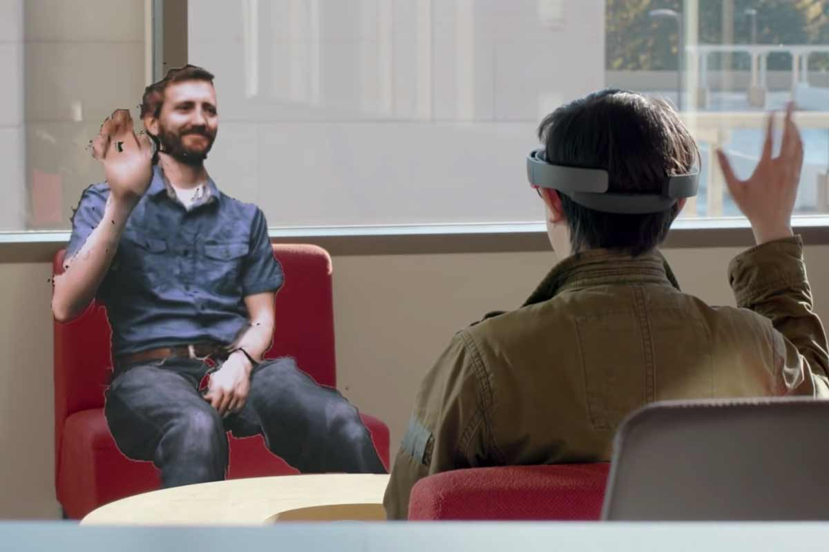 Hololens: Microsoft baut das erste mobile Hologramm-Telefon