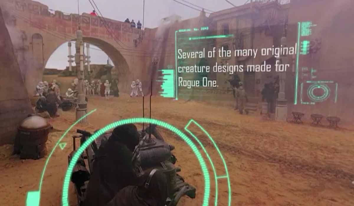 Star Wars: Rogue One - Rundumblick hinter die Kulissen im 360-Making-of