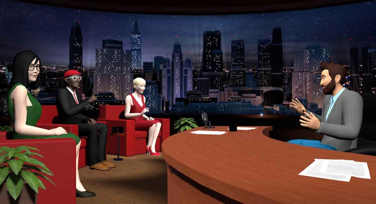 Virtual Reality: Social-App vTime wird zum Broadcasting-Netzwerk