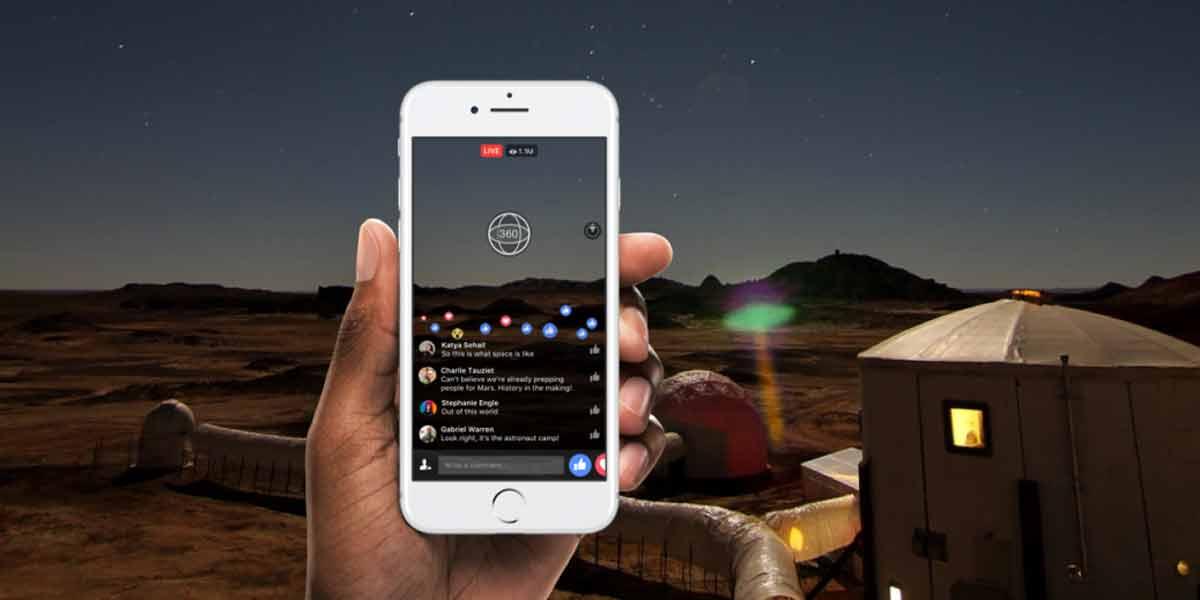 Facebook startet Live-Streaming für 360-Videos