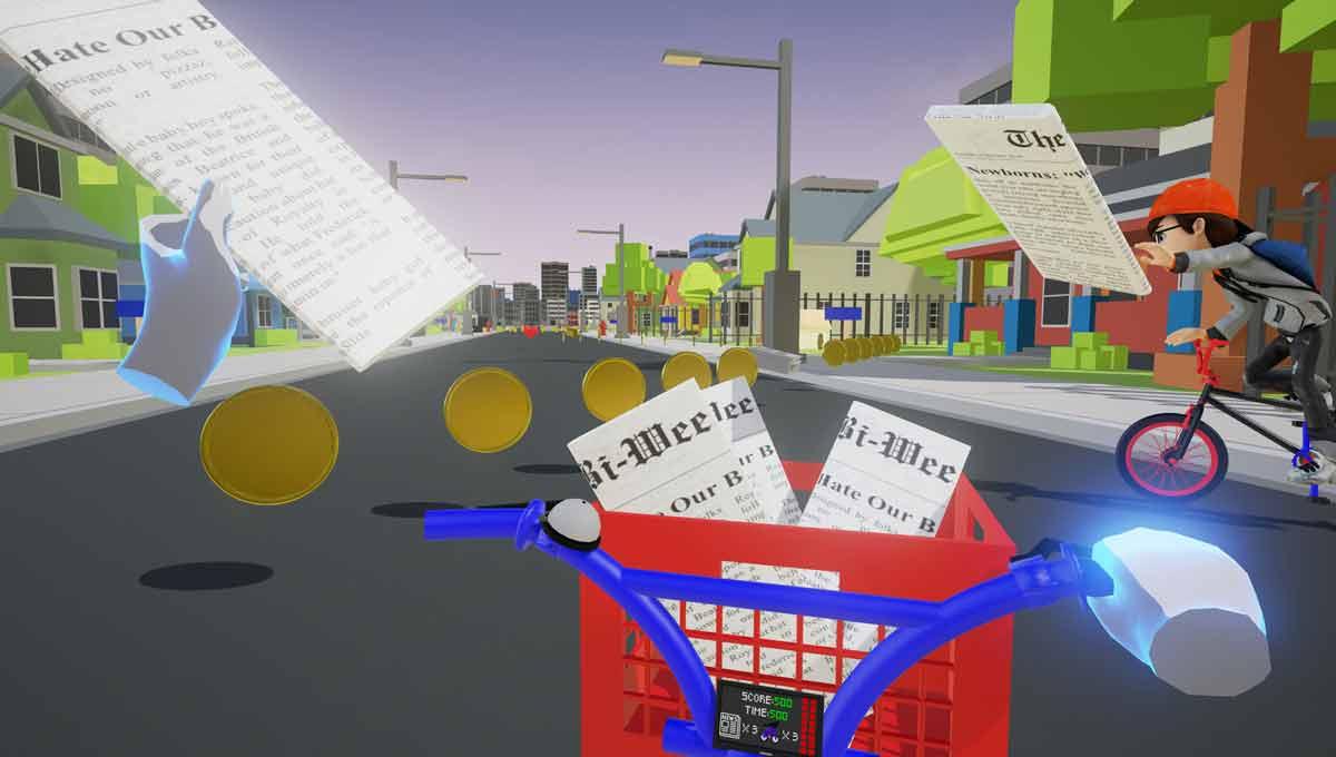 Oculus Rift: Special Delivery - Paperboy-Klon für die VR-Brille im Test