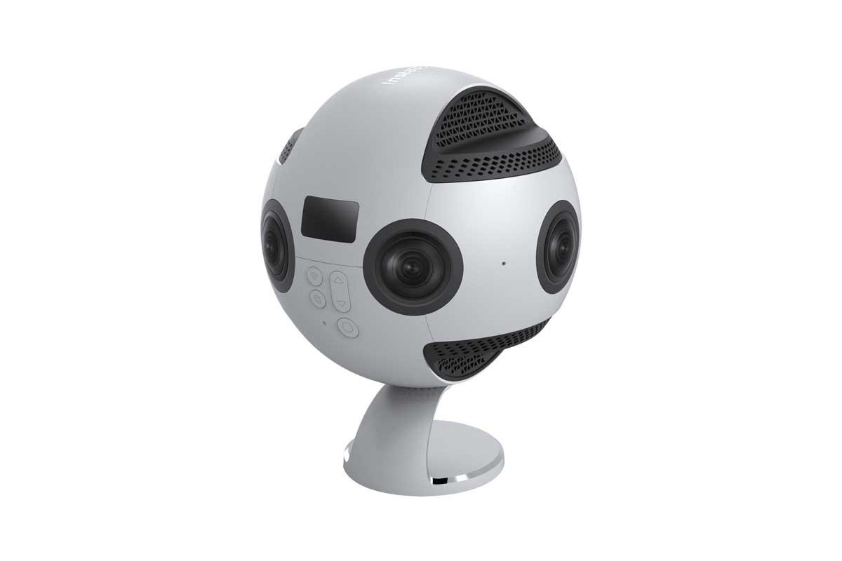 """Mit der """"Insta360 Pro"""" lassen sich 360-Grad-Filme in 8K drehen"""