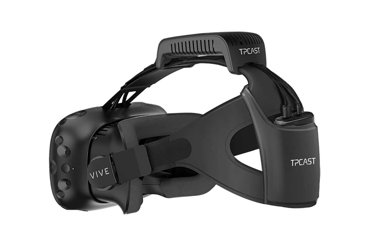 Der Drahtlosadapter TPCast für HTC Vive verspricht unkomprimierte Bildqualität und eine nicht spürbare Latenz. Gelingt das?