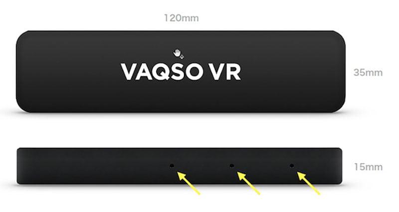 Vaqso_Größe