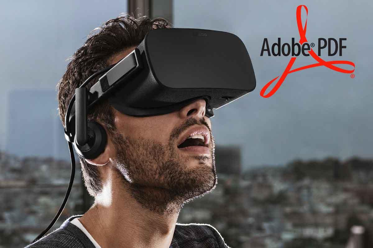 Adobe lässt Praktikantin VR-Version des PDF Readers entwickeln