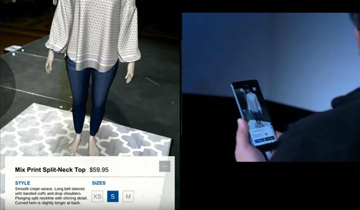 Google kooperiert mit BMW und Gap zu Augmented-Reality-Shopping