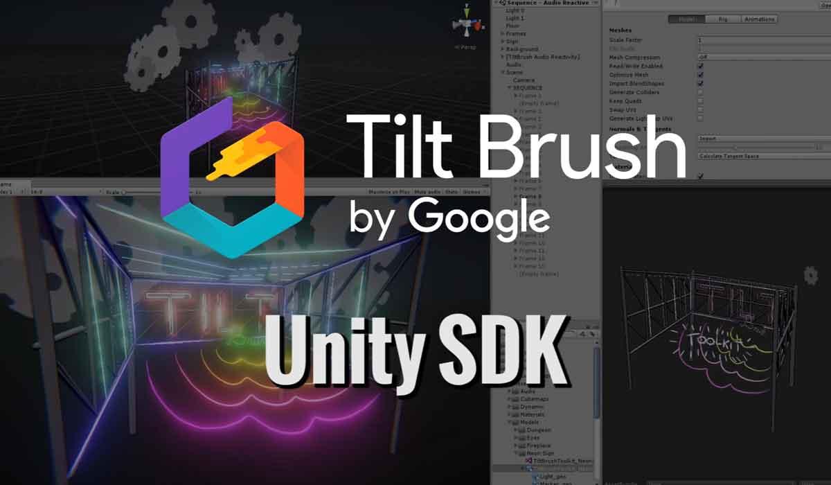 HTC Vive: Google erweitert Tilt Brush um Unterstützung für Unity