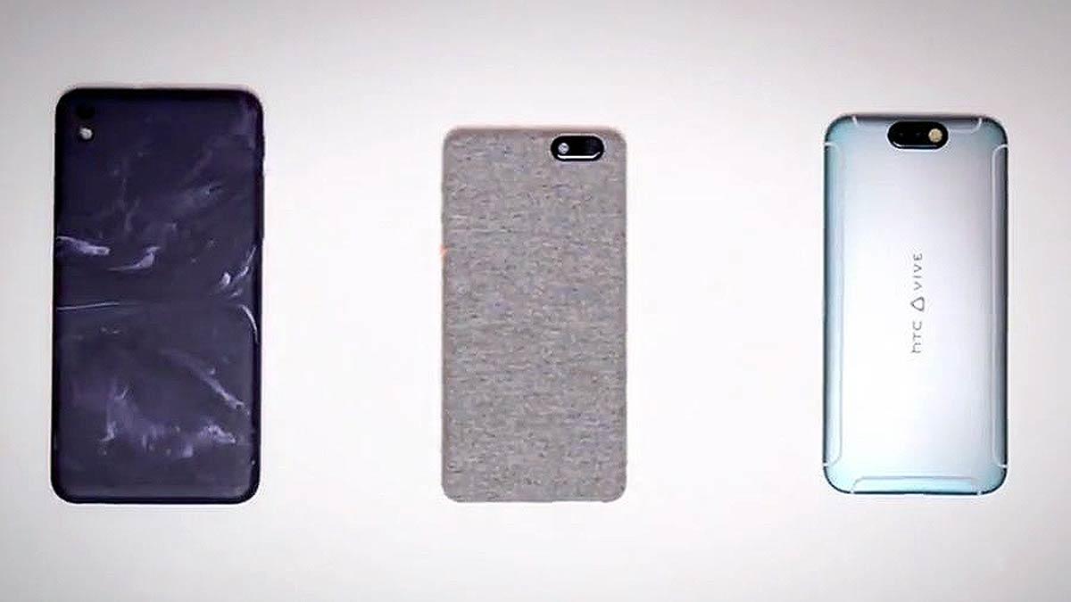 HTC Vive: Trailer zeigt Smartphone mit Vive-Branding