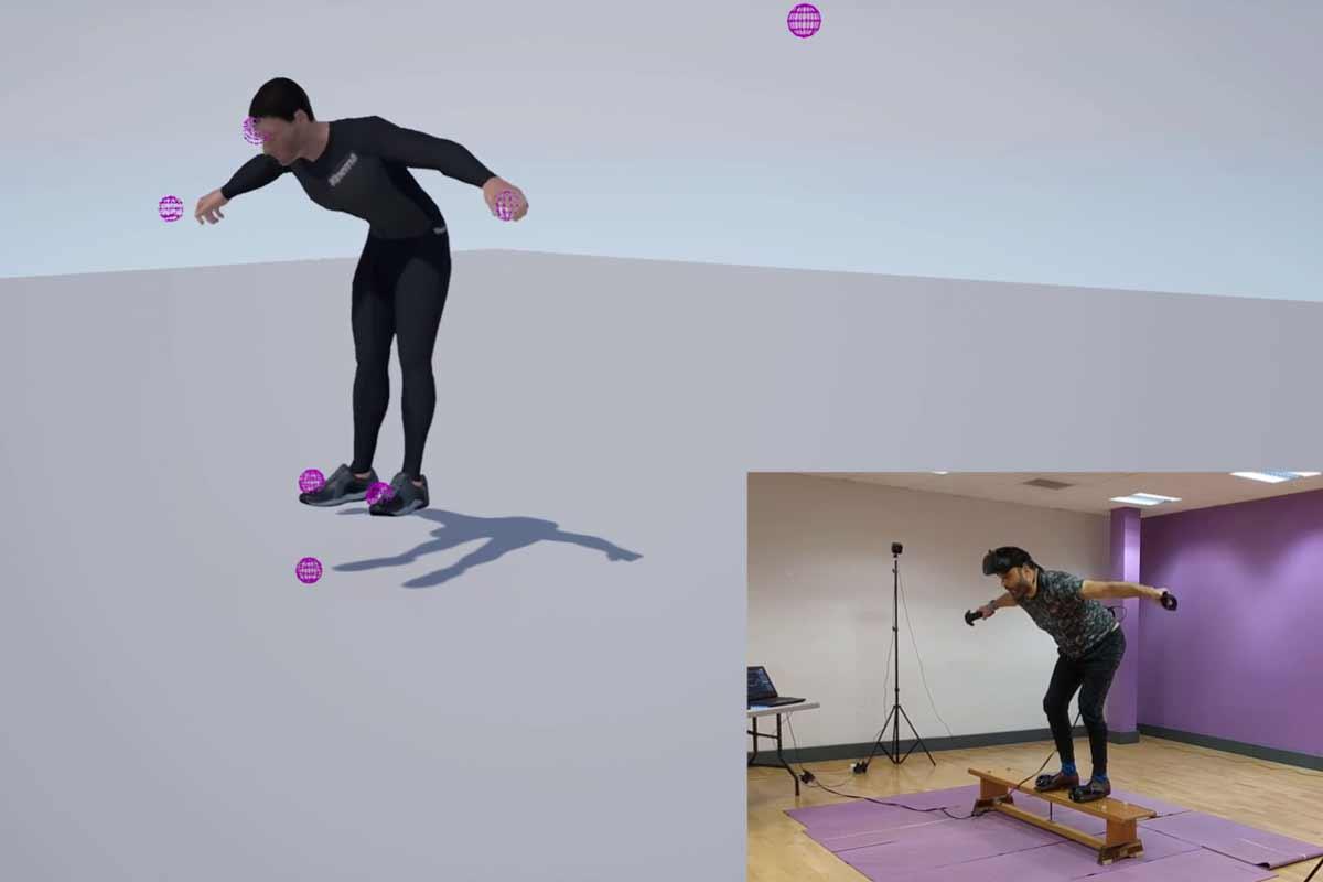 HTC Vive: Vollständige Körpererfassung mit den Vive-Trackern möglich
