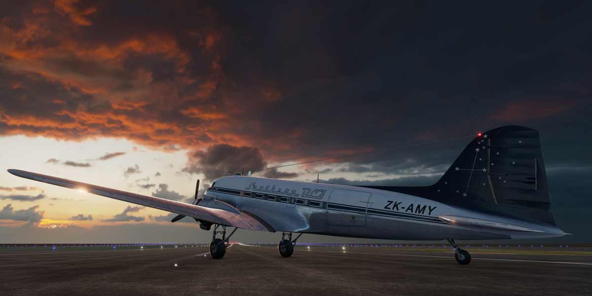 In einer virtuellen Flugshow für Oculus Rift kann man in rund sechs Minuten die Historie des Flugzeugs bis zur Moderne erleben.