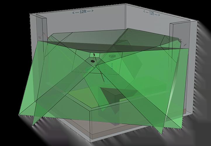 Drei Sensoren sollen Room-Scale-VR wie bei HTC Vive ermöglichen. Bild: Oculus VR