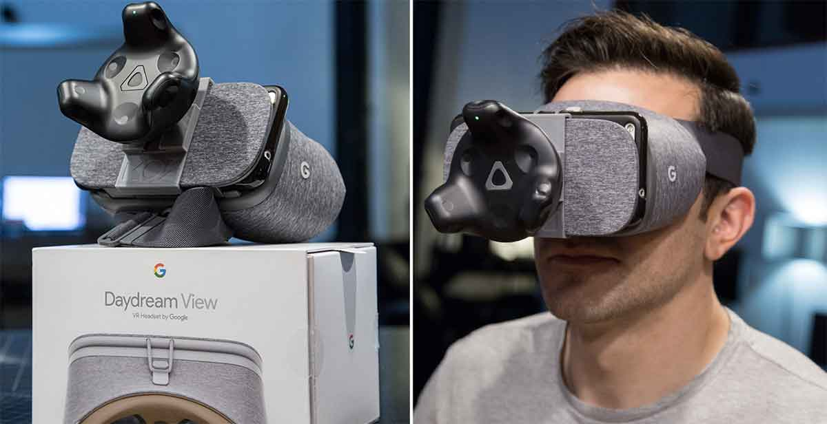 Vive Tracker erweitert Googles VR-Brille um Room-Scale-Tracking