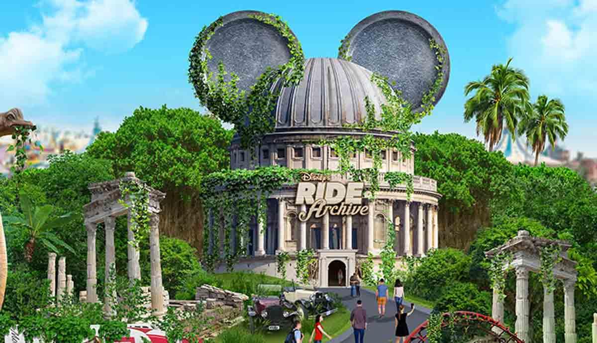 Disney Ride Archive: Historische Fahrgeschäfte in Virtual Reality erleben