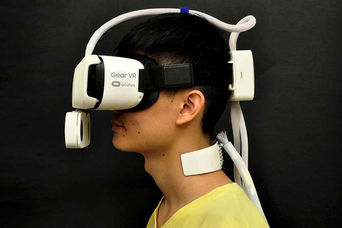 Virtual Reality: Neues Zubehör soll Sonne und Wind spürbar machen