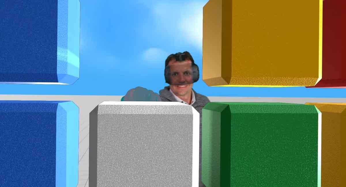Googles neue VR-Filmtechnik zeigt Gesicht unter der Brille