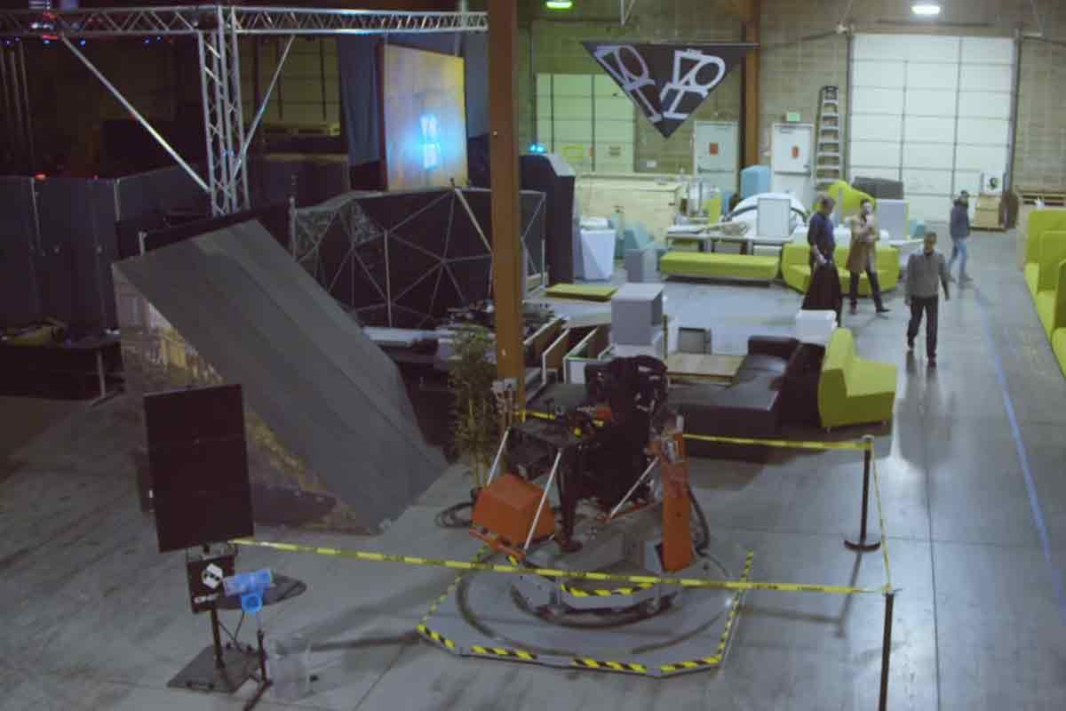 """Neue Einblicke in die Virtual-Reality-Spielhalle """"The Void"""""""