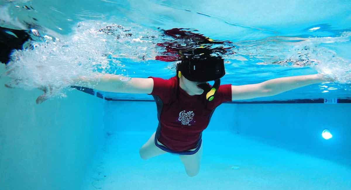 Virtual-Reality-Experiment: Diese VR-Brille funktioniert unter Wasser