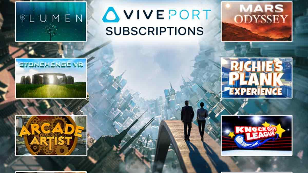 HTC Vive: 14.000 Nutzer warten auf Viveports Aboservice, Entwickler können sich anmelden