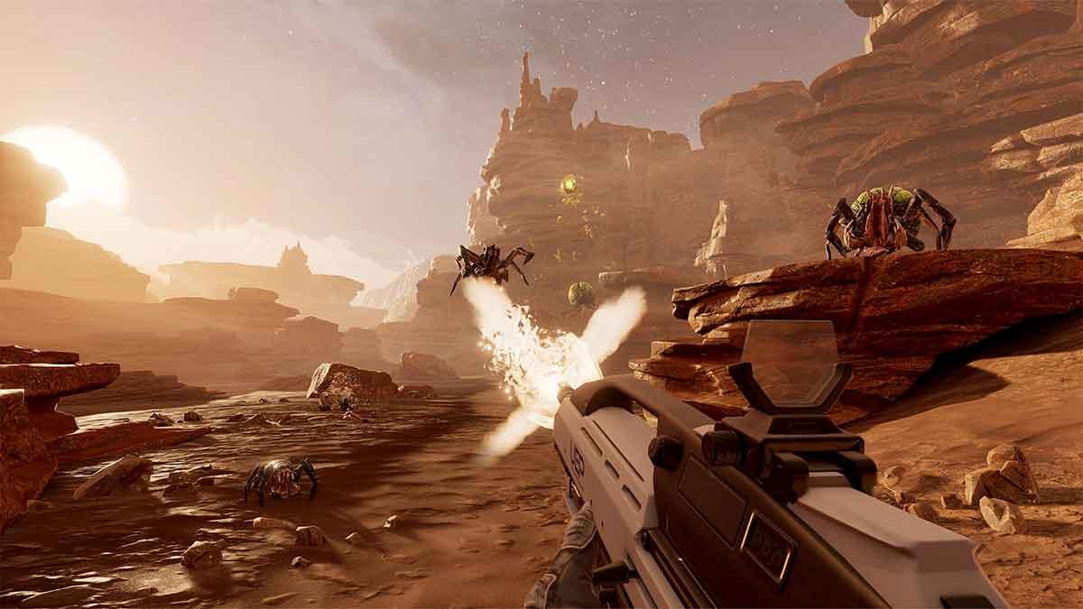 Farpoint wurde von Grund auf für Sonys Aim Controller entwickelt. Drei US-Journalisten berichten, wie sich der Sci-Fi-Shooter spielt.