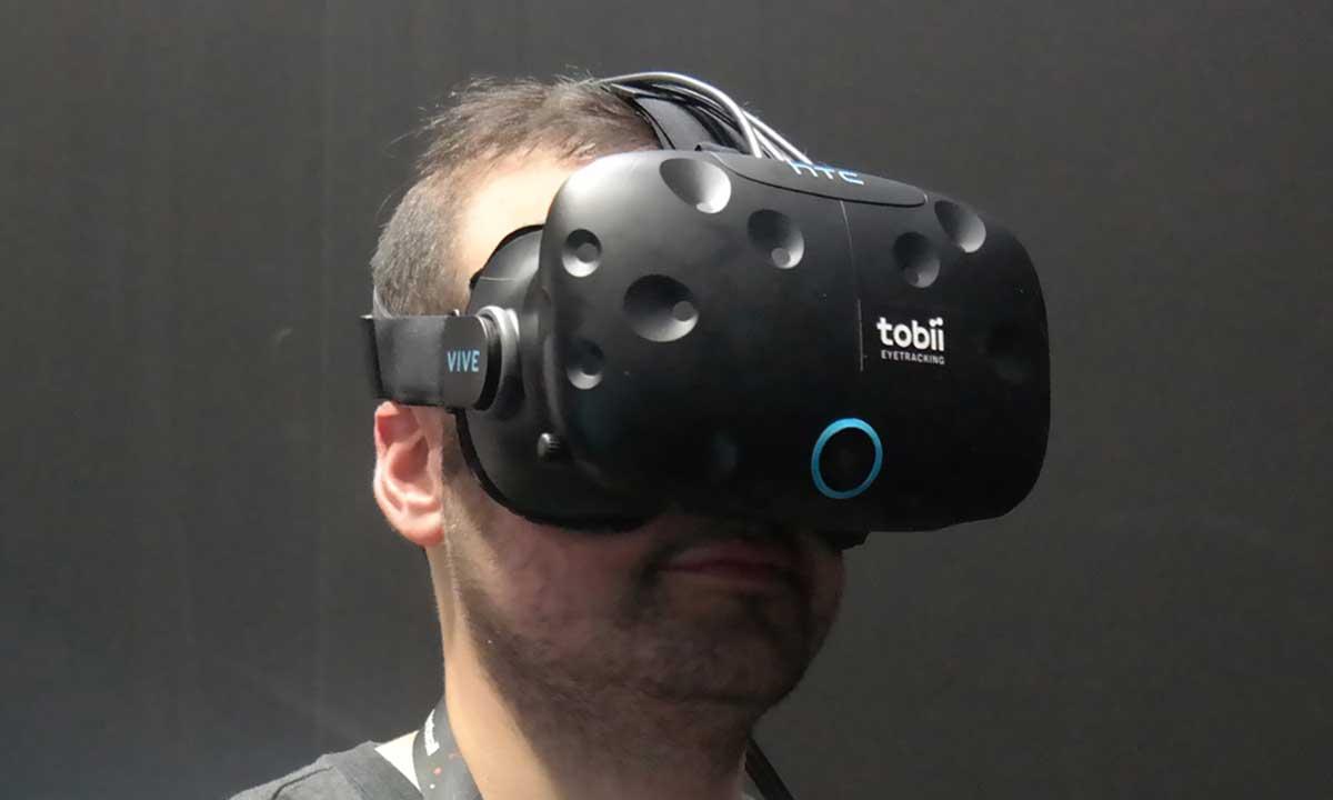 Tobii hat Eye Tracking in eine HTC Vive integriert. Ein Journalist konnte den Prototyp auf der GDC ausprobieren und schildert seine Eindrücke.