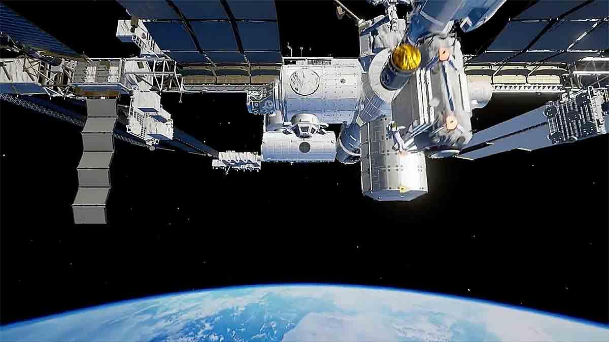 Diese VR-Erfahrung bietet eine originalgetreue Rekonstruktion der ISS. Fans der Raumfahrt dürfte sie Freudentränen in die Augen treiben.