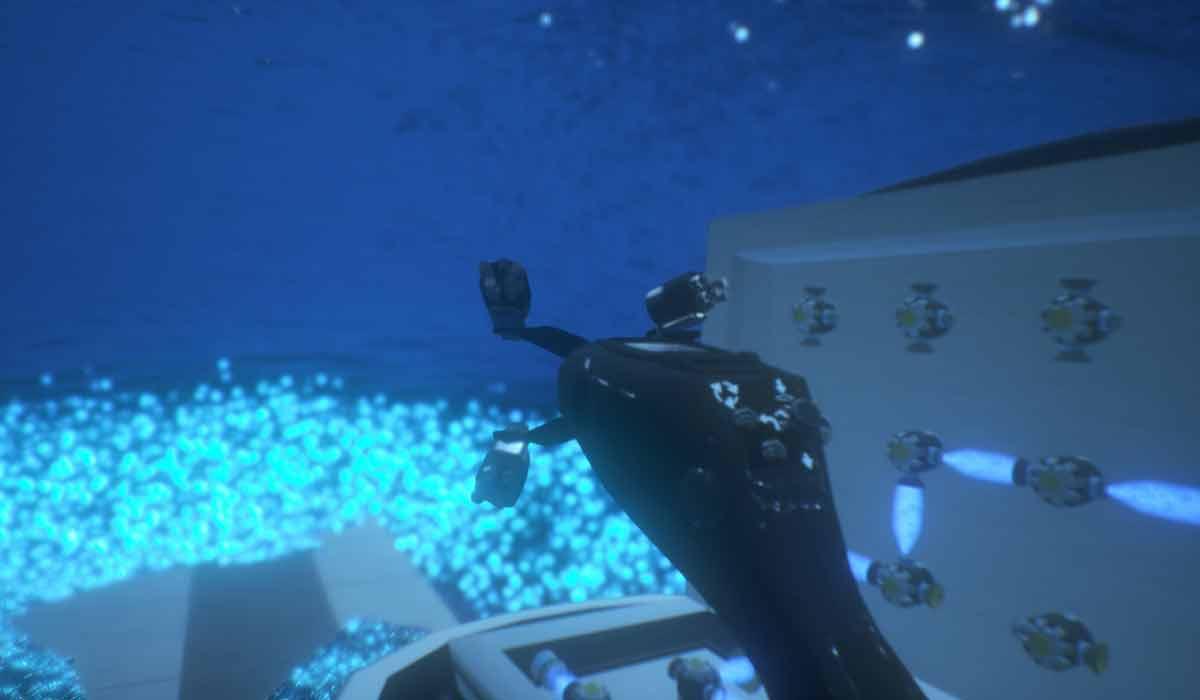 """Mit """"Passengers: Awakening"""" veröffentlicht Sony Pictures Virtual-Reality-Abteilung erstmals eine VR-Erfahrung passend zum Film. Taugt sie?"""
