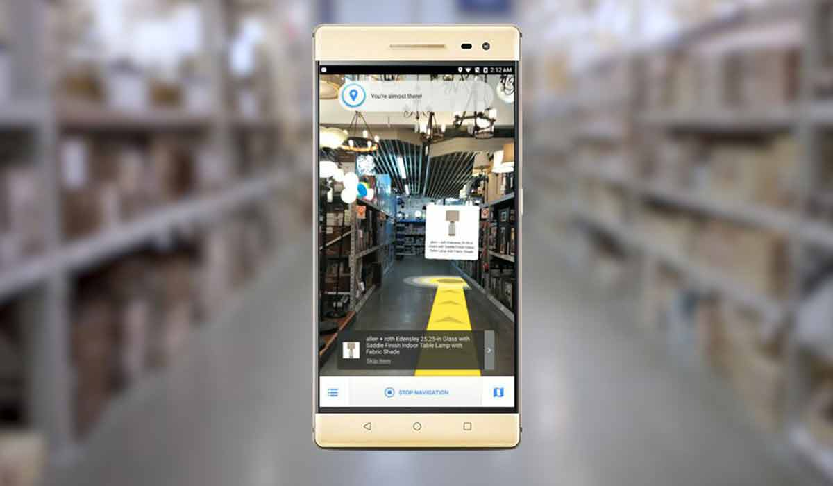 Für unkoordinierte Supermarktmuffel könnte die Navigation in Gebäuden mit Augmented Reality ein echter Zugewinn sein.