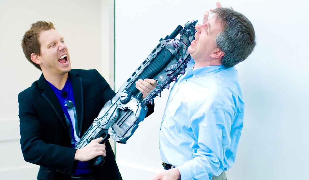 """Der Erfinder von """"Gears of War"""" Cliff Bleszinski gehörte zu den ersten VR-begeisterten Entwicklern. Seine Leidenschaft scheint abzukühlen."""